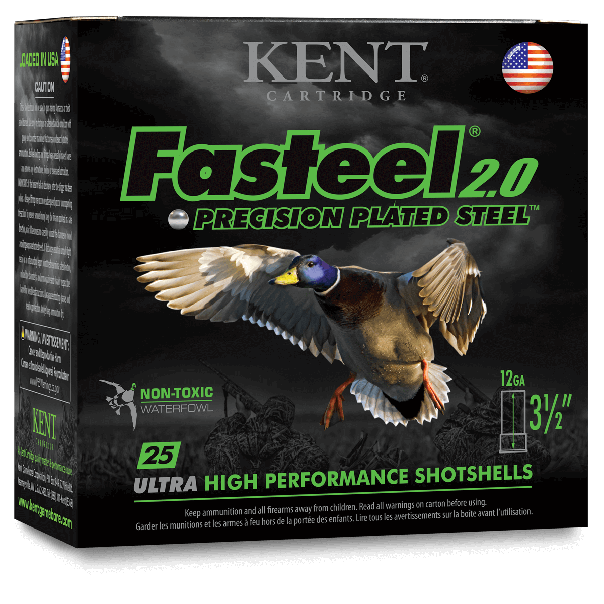 Fasteel® 2.0 Precision Plated Steel™ Waterfowl